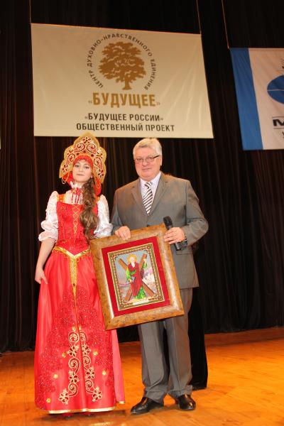 9854_А.Торкунов и лауреат Фестиваля-Ассамблеи М.Лейкина, г.Кемерово